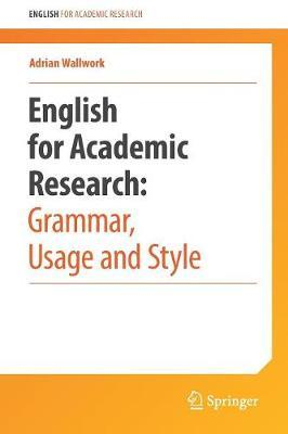 english for writing research papers wallwork Read english for academic research: writing exercises by adrian wallwork with rakuten kobo this book is based on a study of referees' reports and letters from.
