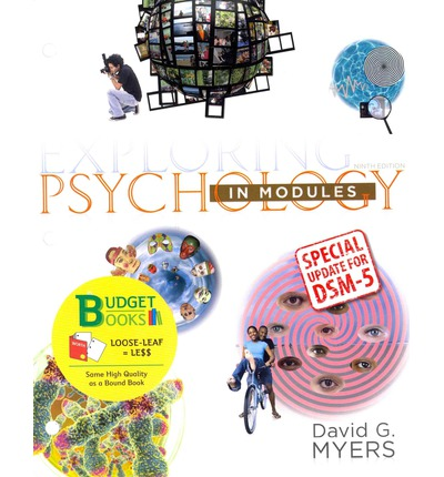 Psychology in Modules David G. Myers SAVE $$$$$$ WITH 9TH EDITION