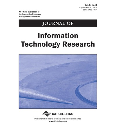 information technology journals International journal of information technology (ijit), an official journal of bharati vidyapeeth's institute of computer applications and management (bvicam), new delhi, aims to publish original, theoretical and practical advances.