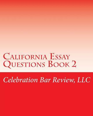 california bar essay questions