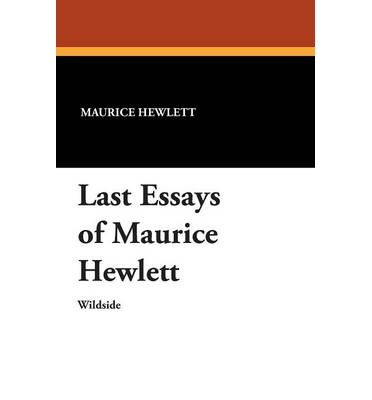 maurice essays Theological essays has 2 ratings and 1 review robert said: it has been said concerning the theological essays that: maurice has a sneaky approach he b.