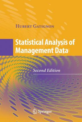 statistical analysis of the data