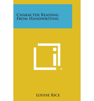 Character Reading from Handwriting