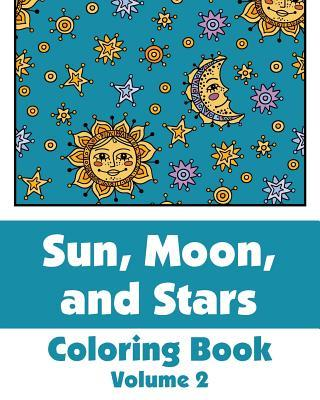 Sun, Moon, and Stars Coloring Book (Volume 2)