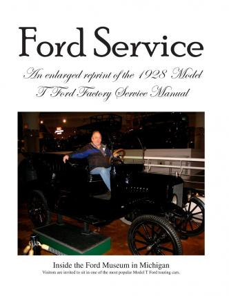 model t ford factory service manual ford motor company. Black Bedroom Furniture Sets. Home Design Ideas