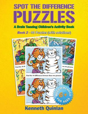 Spot the difference puzzles a brain teasing children s activity book