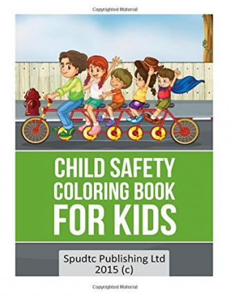 Child Safety Coloring Book For Kids