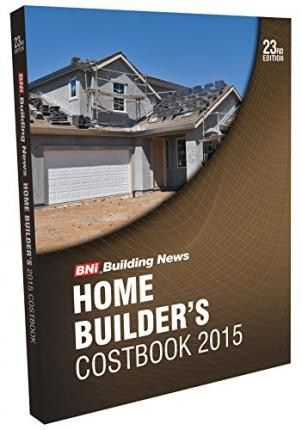 Bni Home Builder's Costbook 2015