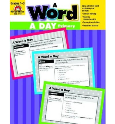 A Word a Day, Grades 1-3