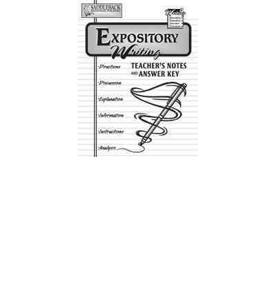 expository essay teacher notes When writing an expository essay, you need to show the deeper side of your chosen subject check out our expository essay samples to better understand the process of.
