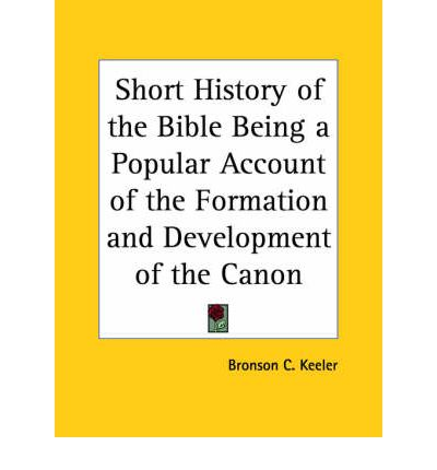 a short history of the bible pdf