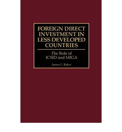 the political economy of foreign direct Four models explaining the flow of foreign direct investment in 80 less developed countries are econometrically estimated and compared by ex post forecasts a politico-economic model which simultaneously includes economic and political determinants performs best.