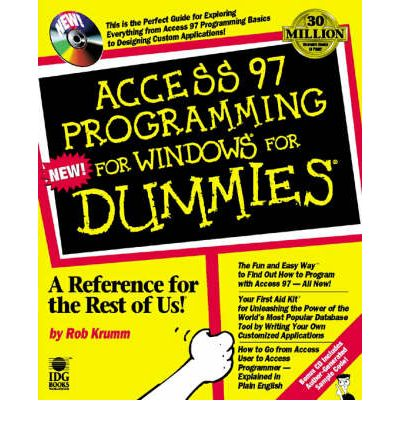 microsoft access for dummies pdf
