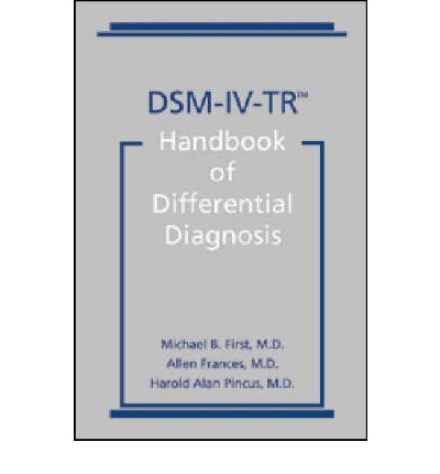 dsm iv tr Scid-i is a semi-stuctured interview for making the major dsm-iv axis i diagnoses.
