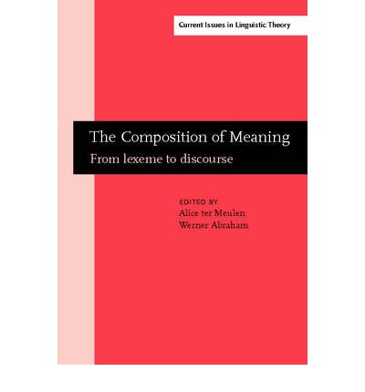 The composition of meaning alice ter meulen 9781588115683 for Meaning of terrace in english
