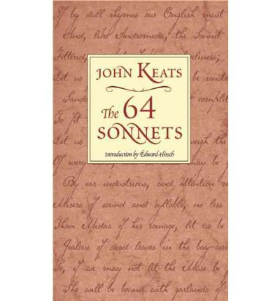 analysis of john keats sonnets A bi-weekly analysis of each of the 108 sonnets of astrophil and stella  shares some of the shyness and introversion of the much later poet john keats,.