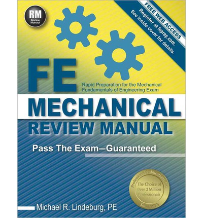 fe mechanical review manual michael r lindeburg fe exam review manual pdf fe exam review manual and references
