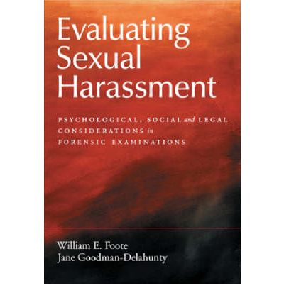sexual harassment and psychology seems