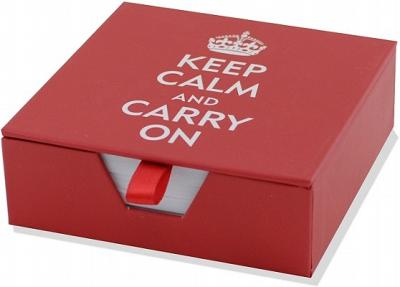 Desk Notes Keep Calm & Carry on