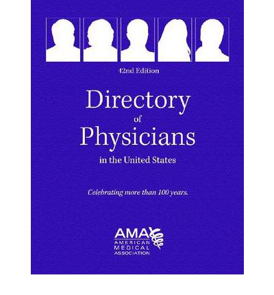 Directory of Physicians in the Us 4 Vol Set