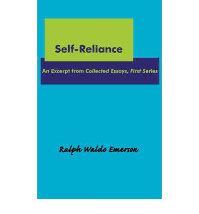 essay self reliance emerson summary
