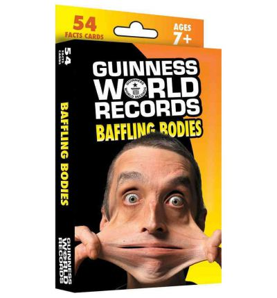 Guinness World Records(r) Baffling Bodies Learning Cards