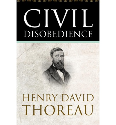 an analysis of civil disobedience written by henry david thoreau Henry david thoreau analysis and notes on walden: henry thoreau's text with adjacent from thoreau's essay 'on the duty of civil disobedience', written about.