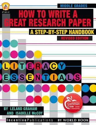 by great guide paper research step step write