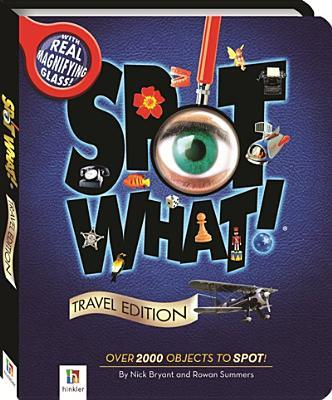 Spot What Travel Edition With Magnifying Glass