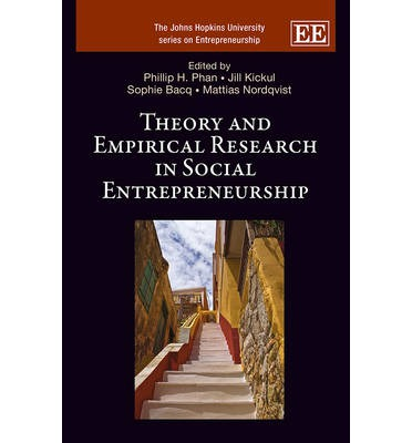 research in social entrepreneurship The main specific objective of this paper is to explore the content of research as  well  researchers on social entrepreneurship mainly focused on describing the .