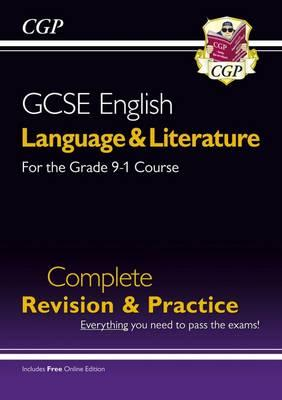 New Grade 9-1 GCSE English Language and Literature Complete Revision & Practice (with Online EDN)