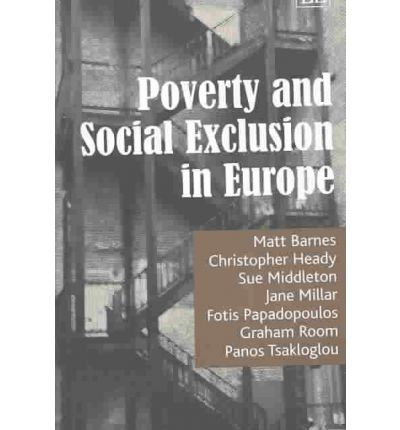 social exclusion and poverty Social exclusion and poverty income poverty has traditionally been used to measure disadvantage in society social exclusion is a more effective measurement because it takes into account many factors, not simply income.