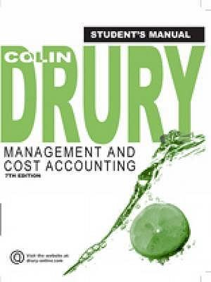 drury management and cost accounting pdf