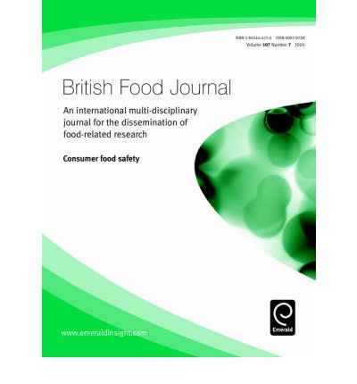 food related thesis Consumer food safety knowledge and practices a mail survey was conducted in 1993 to assess consumer perception of food risks, knowledge and behavior related.