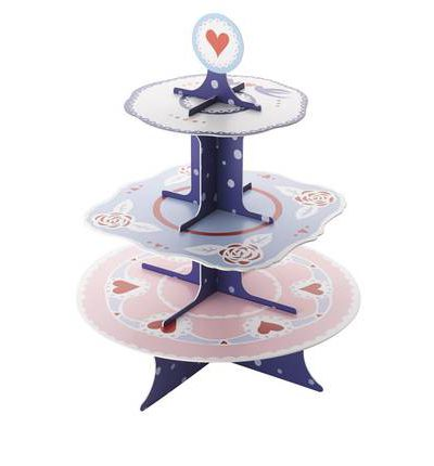 Everything Alice Cake Stand