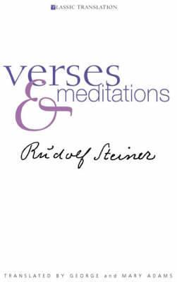 Verses and Meditations