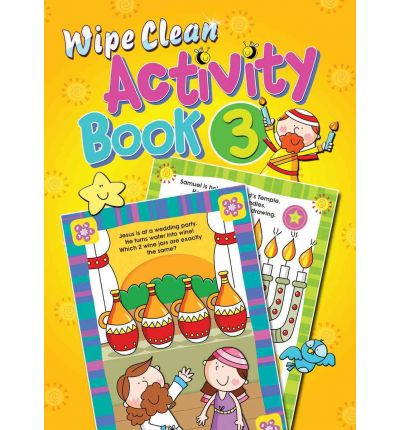 Wipe Clean Activity: Book 3