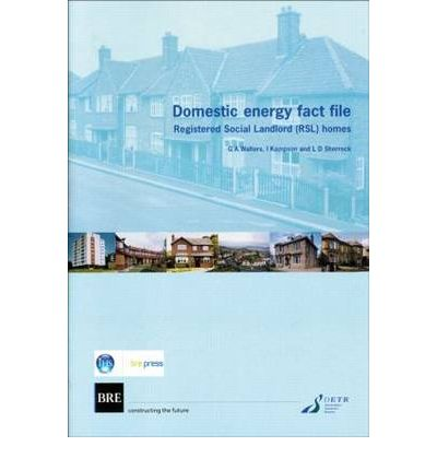 Domestic Energy Fact File : Registered Social Landlord (RSL) Homes (BR 411)
