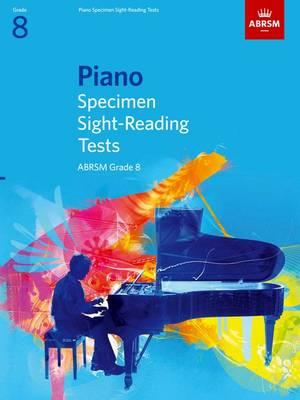 Piano Specimen Sight-Reading Tests, Grade 8: Grade 8
