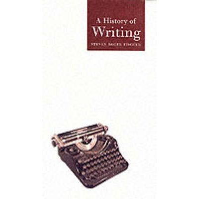 history of writing The history and prehistory of writing are as long as the history of civilization itself indeed the development of communication by writing was a.