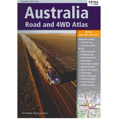 Scarica il pdf del libro Australia Road and 4WD Atlas in Italian MOBI