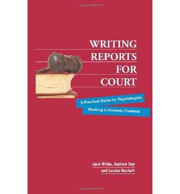 RETC | Writing psychological reports for court help with writing ...