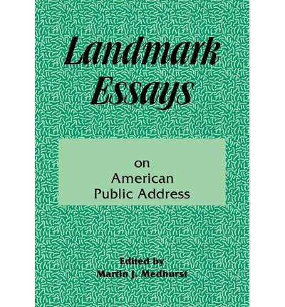 landmark essays american public address