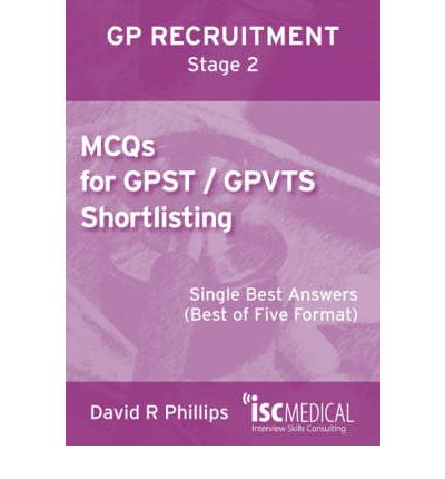 MCQs for GPST / GPVTS Shortlisting (GP Recruitment Stage 2)