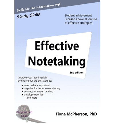 effective notetaking Strategies for effective note-taking before class: review class notes from  previous lectures consult the class schedule/outline to identify the topic and/or.