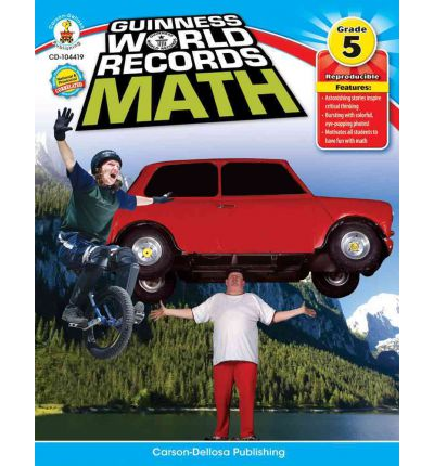 Guinness World Records Math, Grade 5