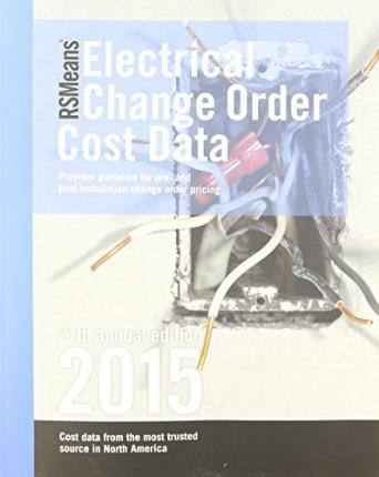 Rsmeans Electrical Change Order Cost Data