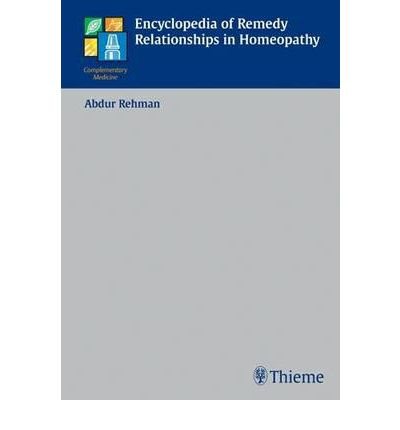 remedy relationship in homoeopathy