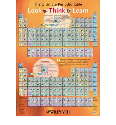 The ultimate periodic table ekkehard fluck 9783527320820 for Periodic table english
