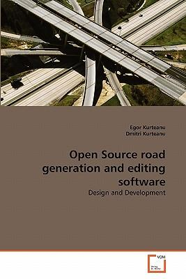 Open Source Road Generation And Editing Software